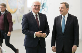 Visit of German Federal President Steinmeier to the ECB - 26 Sep 2018