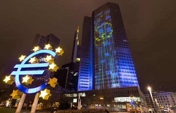 Luminale 2016 - ECB's illuminated buildings